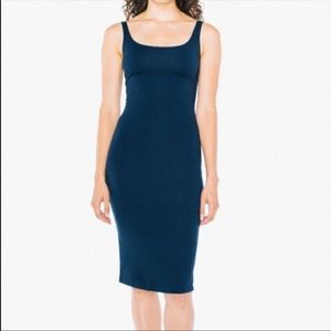 AA navy blue ponte dress